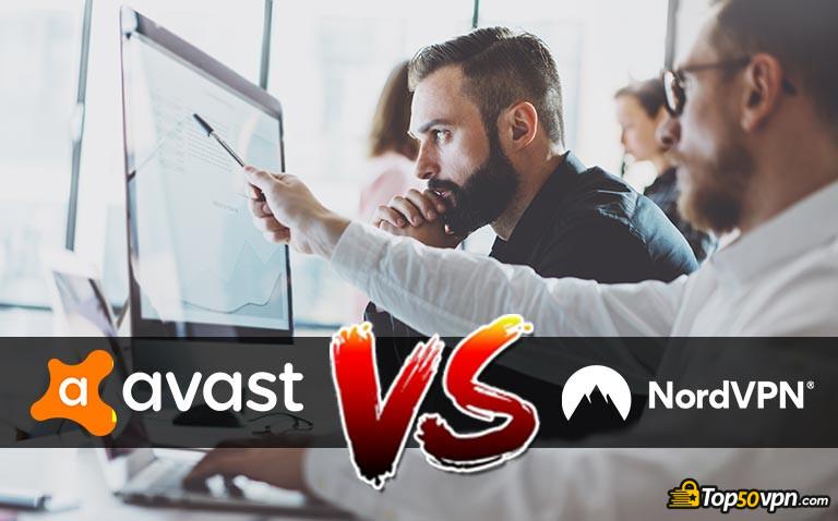 Comparaison NordVPN vs Avast Secureline
