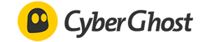 CyberGhost review: A small CyberGhost logo.