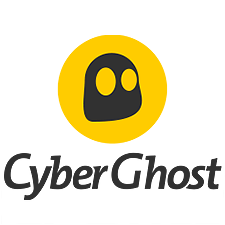 CyberGhost review: a smaller version of the CyberGhost logo.