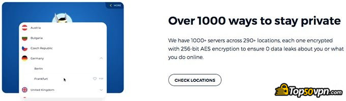 HideMyAss review: AES 256-Bit data encryption.