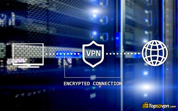 How does a VPN work: the process of a VPN connection.