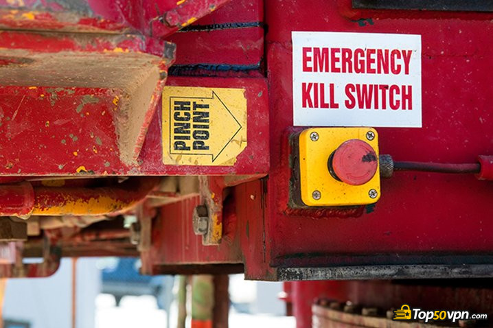 VPN kill switch: emergency kill switch