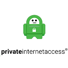 Private Internet Access: a small Private Internet Access logo.