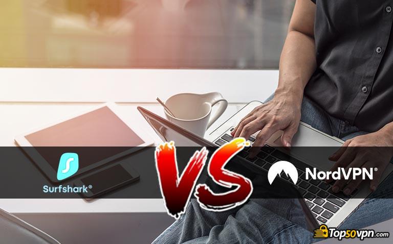 SurfShark VS NordVPN