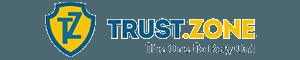 Trust.Zone review: Trust.Zone logo.