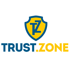 Trust.Zone review: a small Trust.Zone logo.